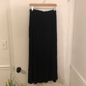 Very Comfy Black Maxi Skirt